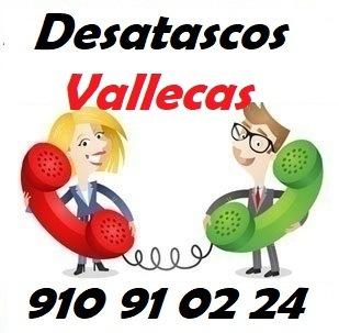 Telefono de la empresa desatascos vallecas